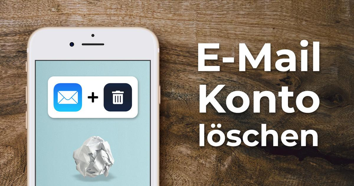 E-Mail Konto löschen | Handy Anleitung (iPhone)